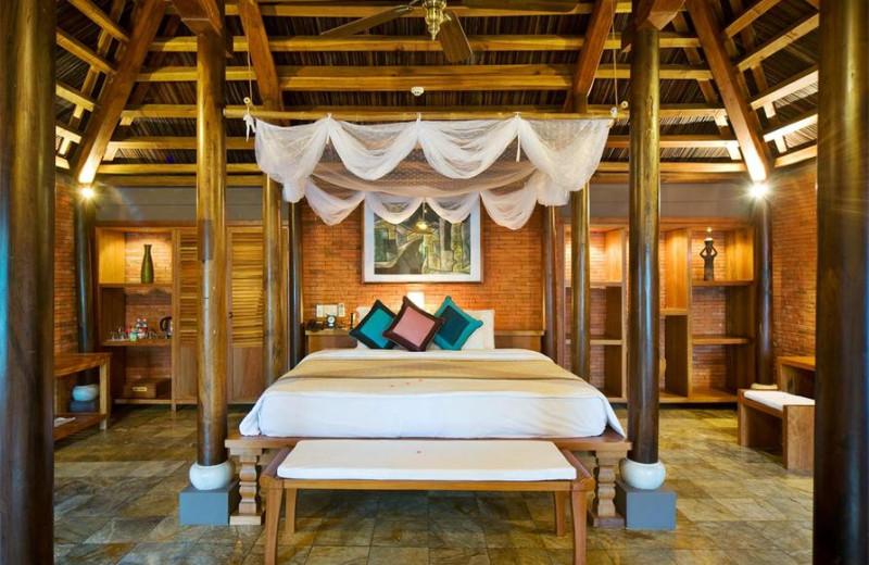 Guest room at Pilgrimage Village, Hue Boutique Resort & Spa.