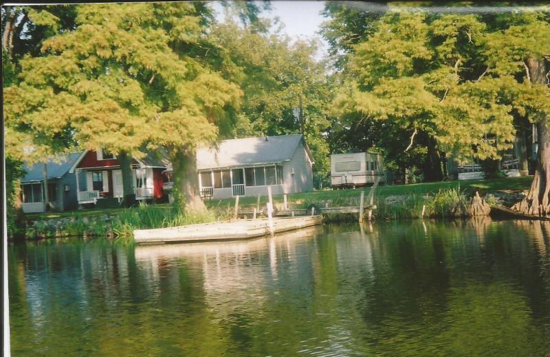 Exterior view of Reelfoot Lake Sportsman's Resort.