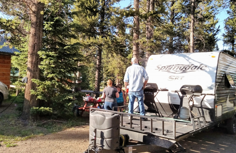 RV camp at Big Moose Resort.