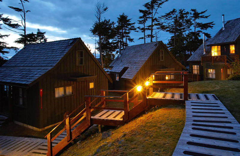 Exterior view of Middle Beach Lodge.