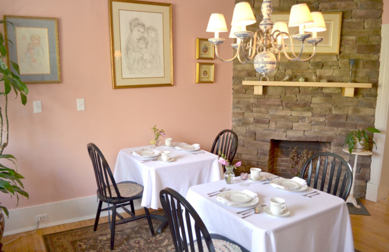 Dining room at The Bell House Inn.