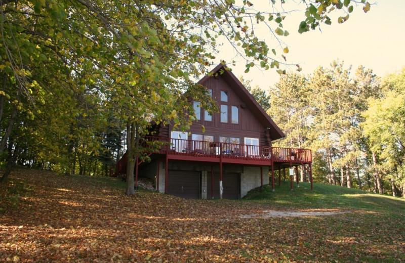 Cabin at Five Lakes Resort.