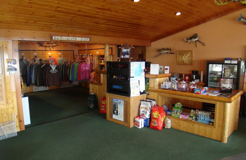 Gift shop at Acorn Hill Resort.