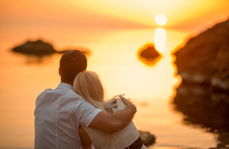 Couple at Newagen Seaside Inn.