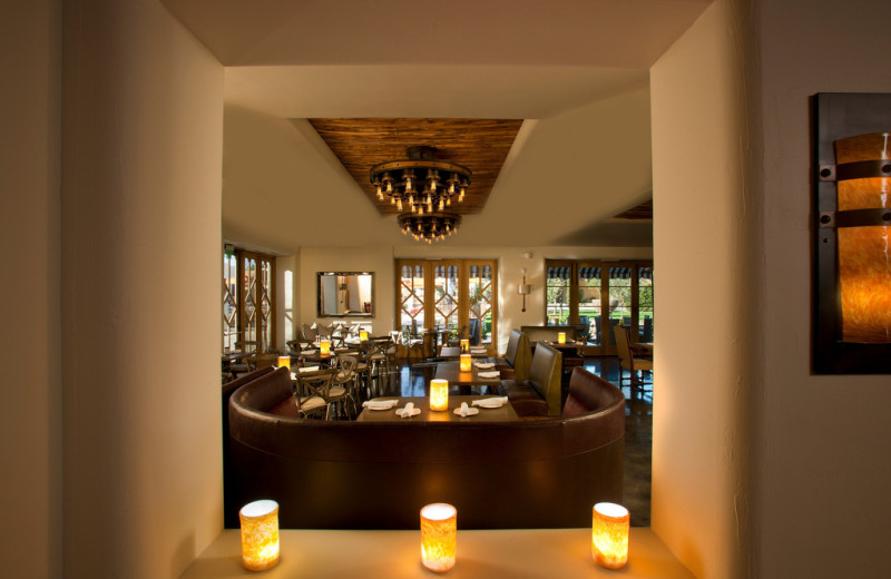Dining room at The Wigwam Resort.