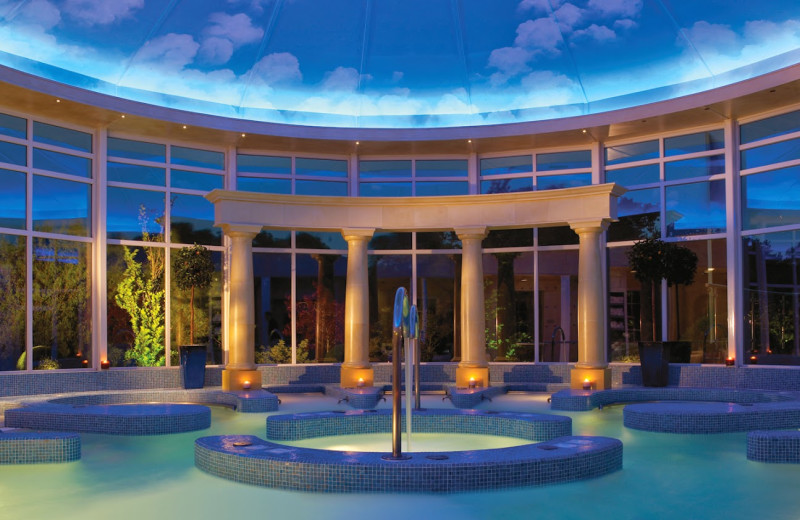 Spa hot tub at Chewton Glen.