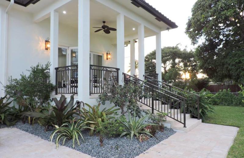 Rental exterior at ValGal Vacation Rentals.