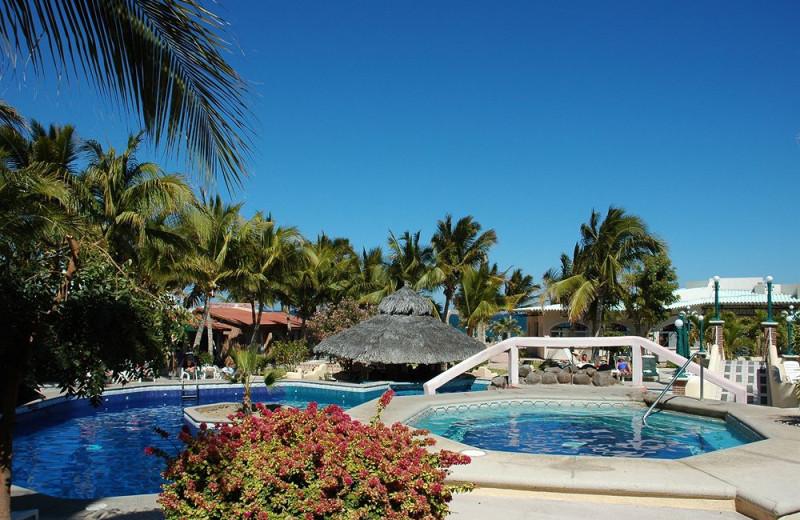 Outdoor pool at Hotel Buenavista Beach Resort.
