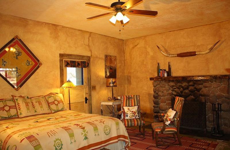 Guest room at Rancho de la Osa Guest Ranch Resort.