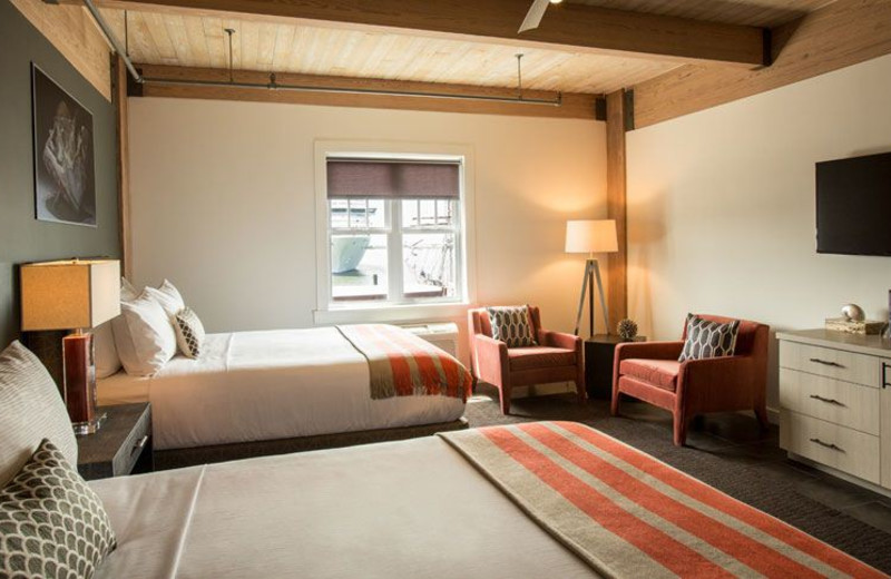 Guest Room at Harbor House Hotel & Marina at Pier 21