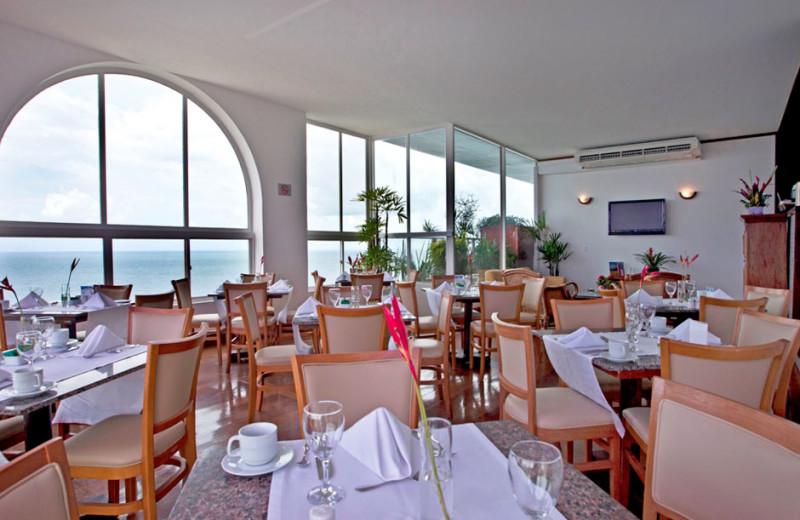 Dining at Bahia Othon Palace.