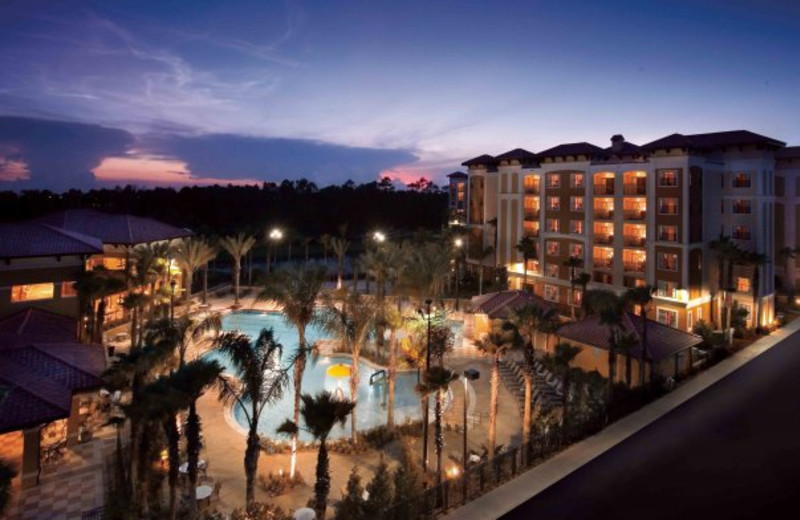 Night view of Floridays Resort Orlando.