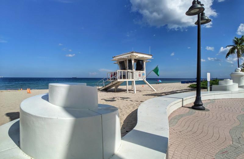 Beach at Walker Vacation Rentals.