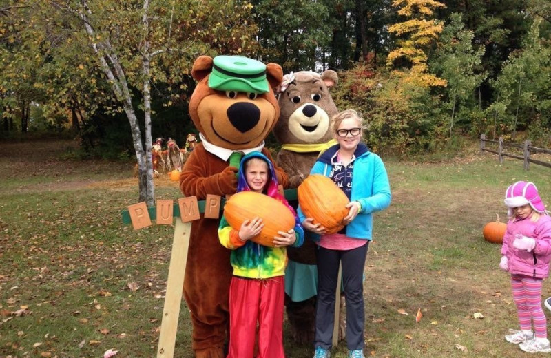 Holiday at Yogi Bear's Jellystone Park Warrens.