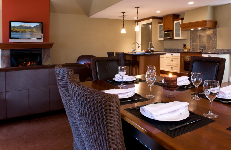 Guest dining area at Solara Resort & Spa.