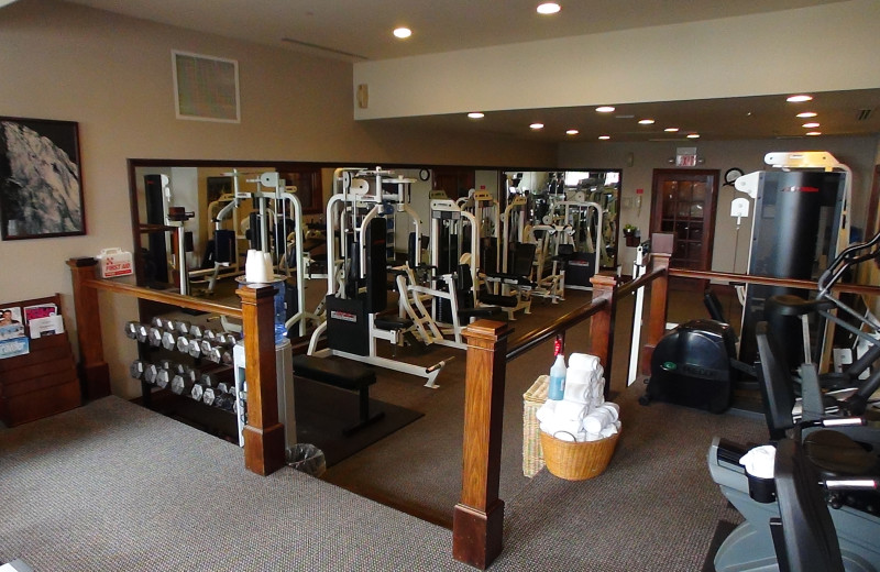 Fitness center at Mirror Lake Inn Resort & Spa.
