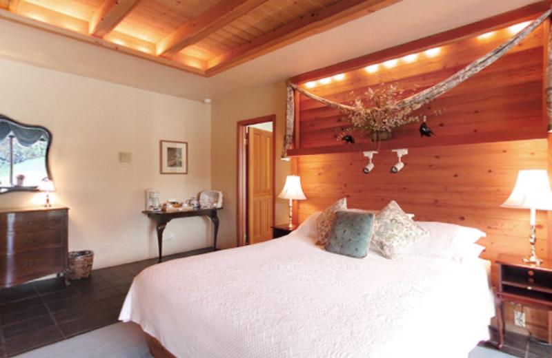 Honeymoon suite at Sonoma Coast Villa & Spa Resort.