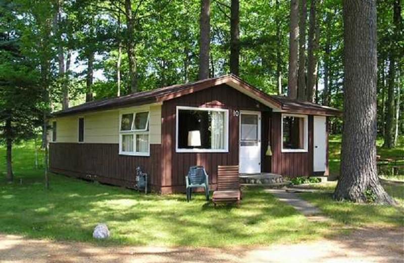 Cabin Exterior at Kafka's Resort