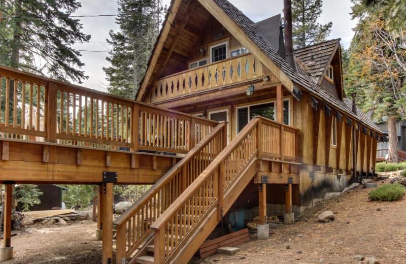 Vacation rental exterior at Vacasa Rentals Lake Tahoe.