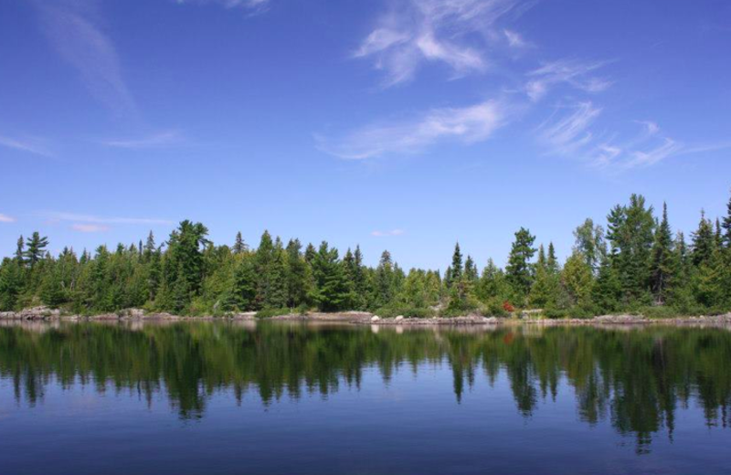 The Lake at Nielsen's Fly-in Fishing Lodge