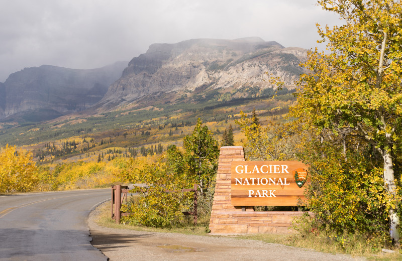 Glacier National Park near Going to the Sun Inn and Suites.