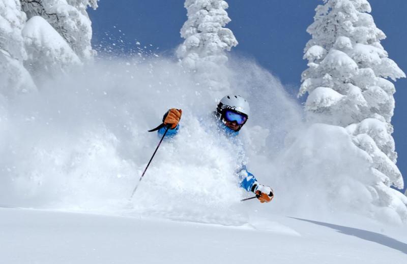 Skiing at Moving Mountains.