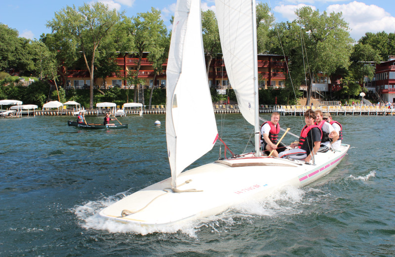 Enjoy sailing and much more at West Lake Okoboji