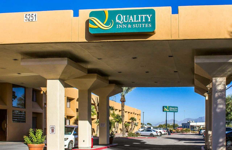 Exterior view of Quality Inn & Suites Airport North.