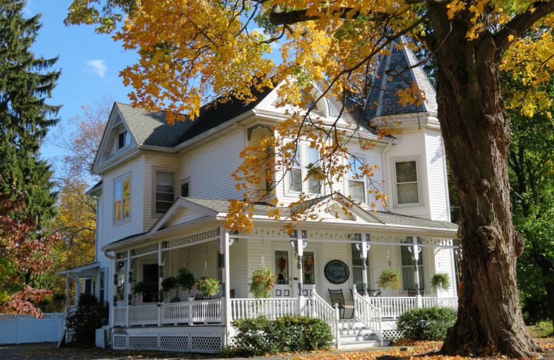 Autumn at Stonegate Bed & Breakfast.