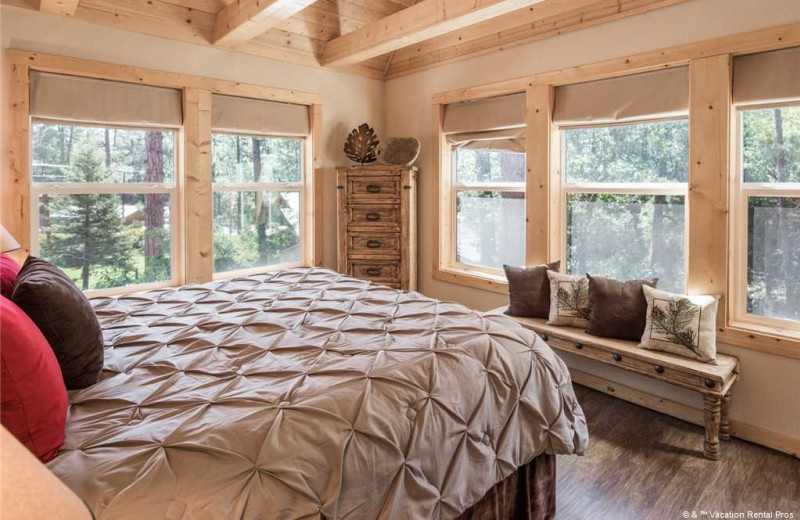 Rental bedroom at Vacation Rental Pros - Ruidoso.