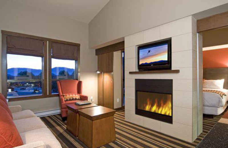 Suite at First Tracks Lodge.