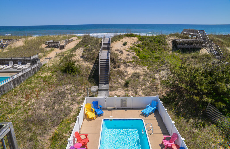 Joe Lamb Jr & Associates has plenty of houses to offer with an amazing deck view like this one from our property 148