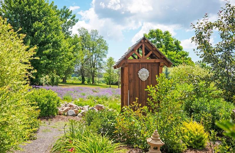 Garden at Ste. Anne's Spa.