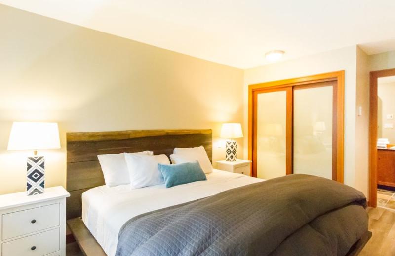 Rental bedroom at Whistler Breaks.