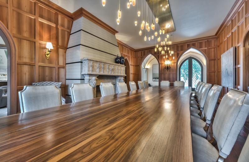 Rental dining room at Park City Rental Properties.