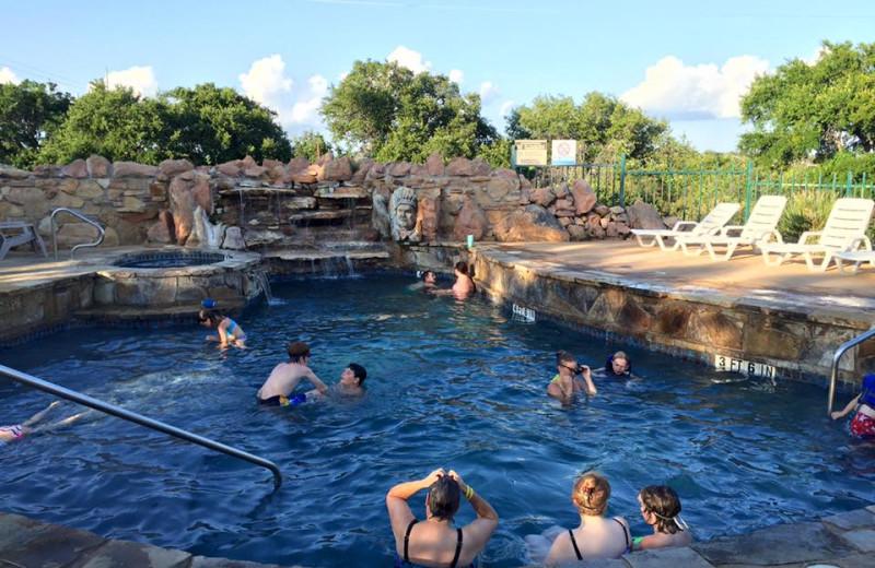 Pool at Big Chief RV Resort.