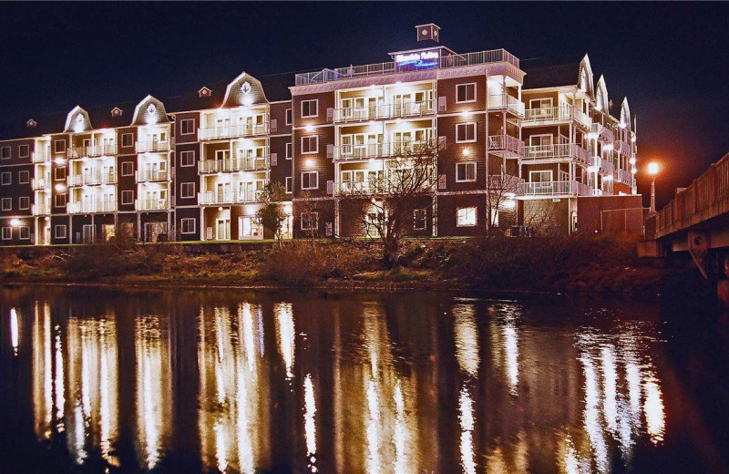 Night at Rivertide Suites Hotel.