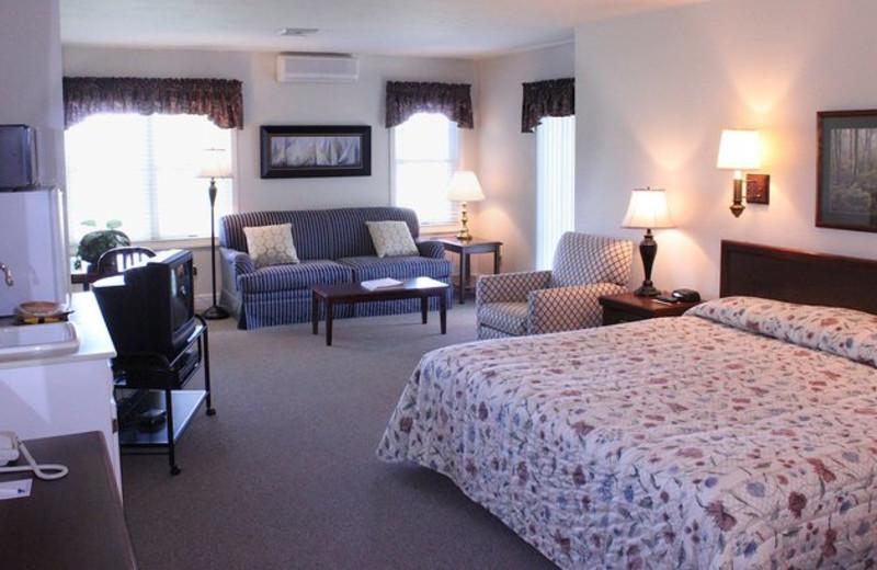 State Room Interior at Baileys Harbor Resort