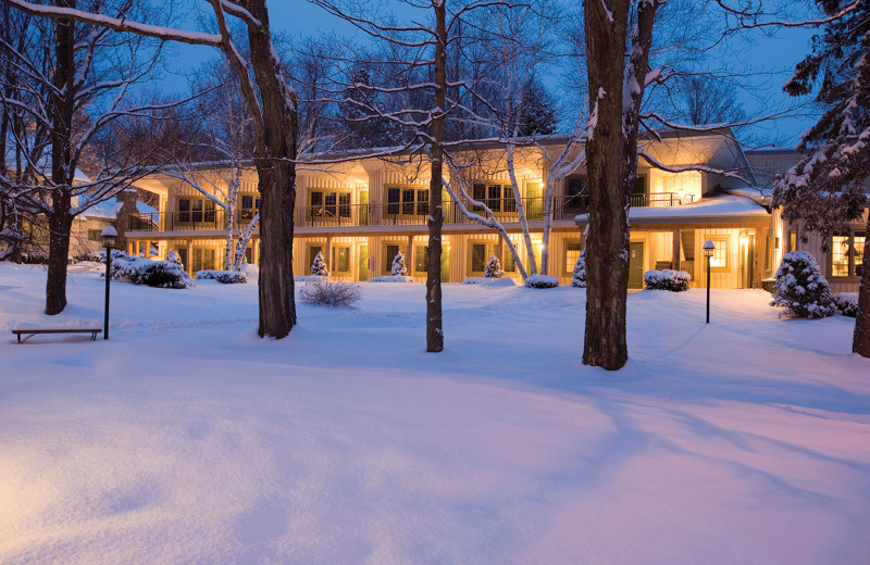 Exterior view of The Winwood Inn at Windham Mountain.