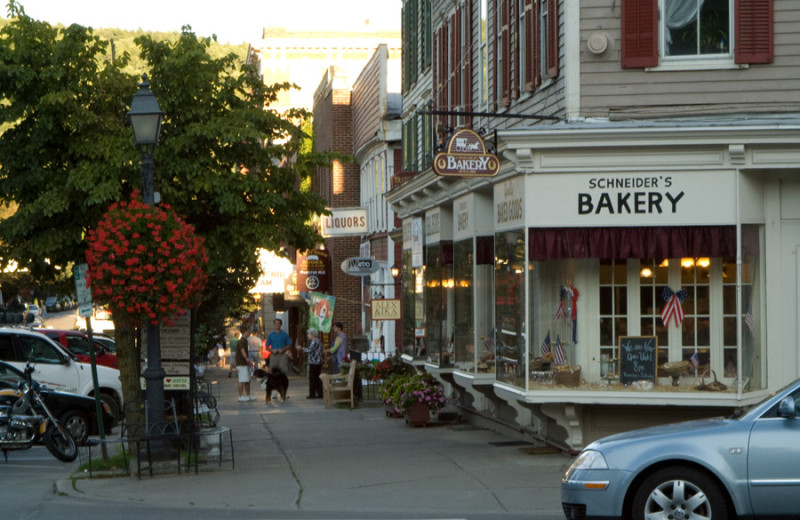 Town near Inn at Cooperstown.
