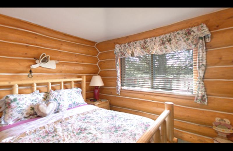 Guest bedroom at Juniper Acres Bed & Breakfast.