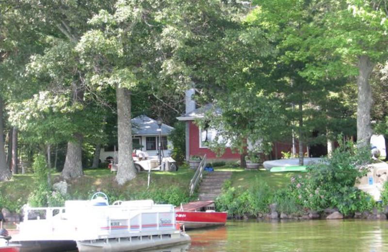 Exterior view of  Radtke's Sabinois Point Resort.