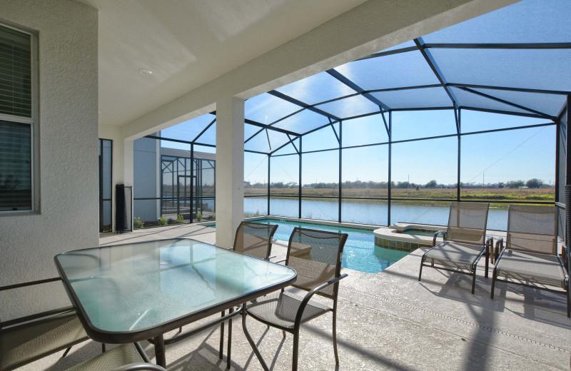 Rental pool at Vacation Pool Homes.