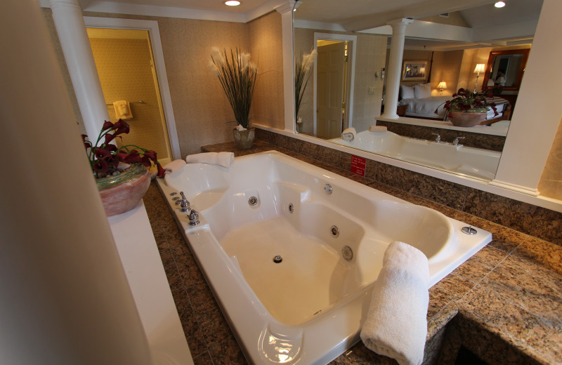 Guest whirlpool at The Meadowmere Resort.