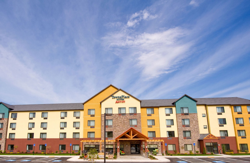 Exterior view of TownePlace Suites Scranton Wilkes-Barre.