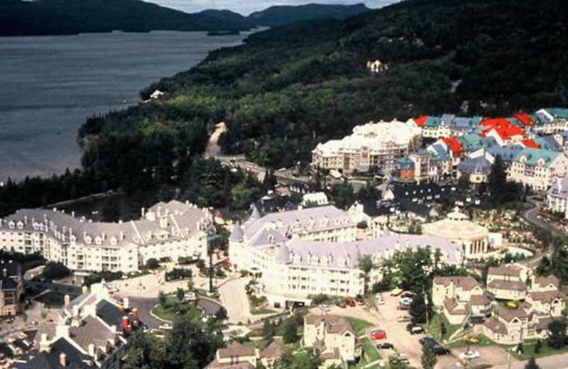 Aerial view of Residence Inn Mont Tremblant Manoir Labelle.