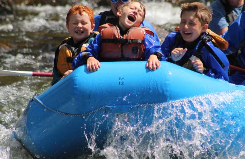 Rafting at Three Rivers Resort & Outfitting.