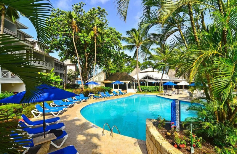 Outdoor pool at The Club, Barbados Resort and Spa.