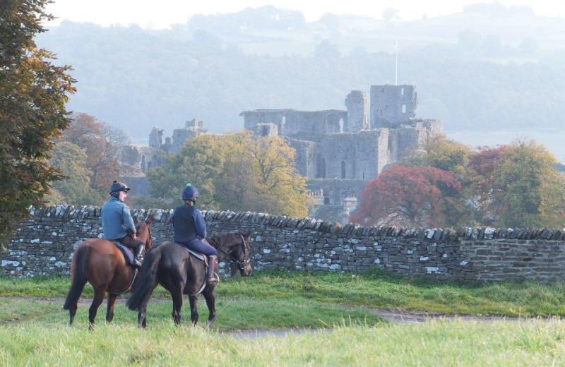 Horseback riding at Waterford House.