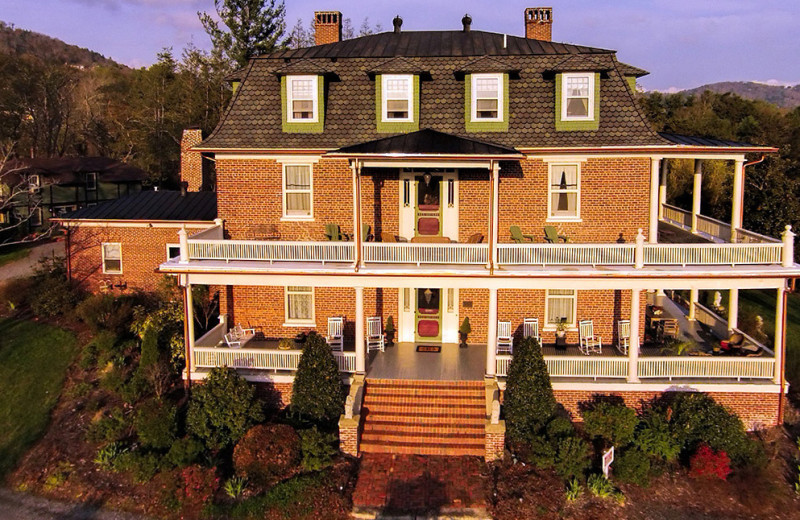 Exterior view of Old Reynolds Mansion.
